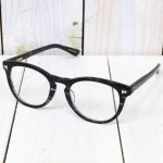 hobo『Wellington Frame Glasses by KANEKO OPTICAL』(NAVY/CLEAR)