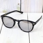 hobo『Wellington Frame Glasses by KANEKO OPTICAL』(NAVY/MIRROR)