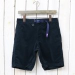 【SALE特価40%off】THE NORTH FACE PURPLE LABEL『Polyester Corduroy Webbing Belt Shorts』(Dark Navy)