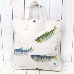 SOUTH2 WEST8『Grocery Bag-Gyotaku Print/Yamame』