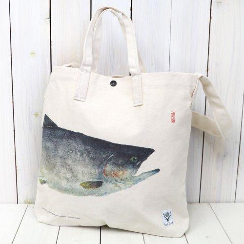 SOUTH2 WEST8『Grocery Bag-Gyotaku Print/Sakuramasu』