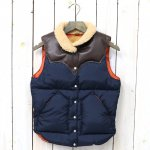 【SALE特価40%off】Rocky Mountain Featherbed『Women's Christy Vest』(NAVY/D.BROWN)
