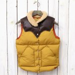 【SALE特価40%off】Rocky Mountain Featherbed『Women's Christy Vest』(MUSTARD/D.BROWN)