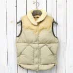 【SALE特価40%off】Rocky Mountain Featherbed『Women's Christy Vest』(TAN/YELLOW)