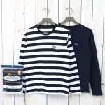 FRUIT OF THE LOOM×BLUE BLUE『2PK BORDER LS T』(A)