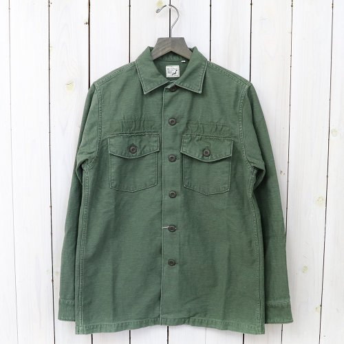 orSlow『US ARMY SHIRTS』(GREEN USED)