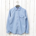 THE NORTH FACE PURPLE LABEL『COOLMAX® Indigo Chambray Shirt』(Indigo Bleach)