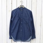 ENGINEERED GARMENTS『Banded Collar Shirt-6oz Denim』