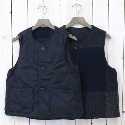 ENGINEERED GARMENTS『Over Vest-Big Plaid Melton/Nyco Ripstop』