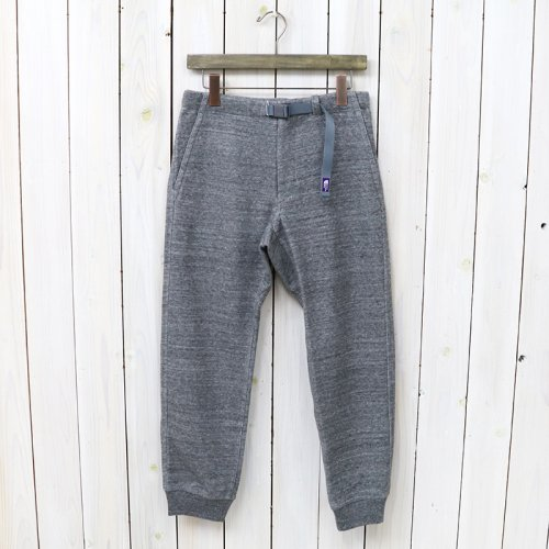 THE NORTH FACE PURPLE LABEL『COOLMAX®  Mountain Sweat Pants』(Mix Gray)