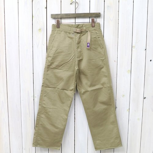 THE NORTH FACE PURPLE LABEL『COOLMAX®  Stretch Twill Wide Pants』(Beige)