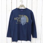 【SALE特価40%off】THE NORTH FACE PURPLE LABEL『COOLMAX®  L/S Graphic Tee』(Navy)