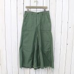 orSlow『FATIGUE LONG SKIRT』(GREEN)