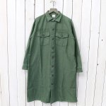 orSlow『US ARMY FATIGUE LONG SHIRTS』(GREEN USED)