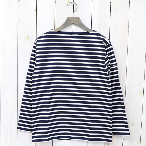 SAINT JAMES『OUESSANT』(NAVY/ECRU)