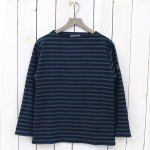 SAINT JAMES『OUESSANT』(NAVY/PIN)