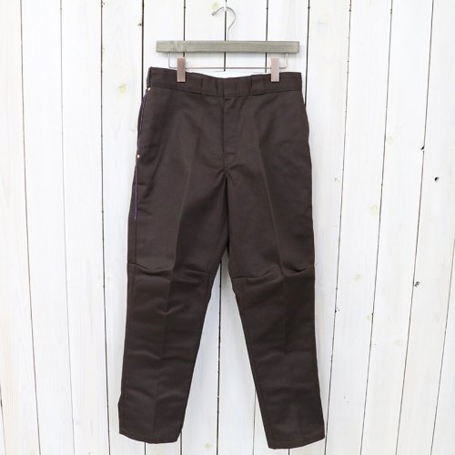 【会員様限定SALE】Rebuild by Needles『Dickies 874-Dimension Slim Pant』(Brown)