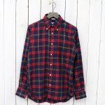 INDIVIDUALIZED SHIRTS『1921 CHECK』(NAVY/RED)