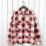 SOUTH2 WEST8『Flannel 6 Pockets Classic Shirt』(White/Red)