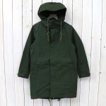 nanamica『GORE-TEX® Shell Coat』(Moss Green)