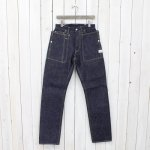 SASSAFRAS『FALL LEAF R PANTS』(INDIGO)