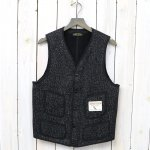 BROWN'S BEACH JACKET『V NECK VEST』(BLACK)