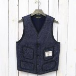 BROWN'S BEACH JACKET『V NECK VEST』(NAVY)