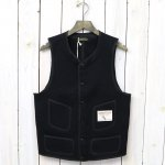 BROWN'S BEACH JACKET『LOW NECK VEST』(SOLID BLACK)