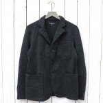 【会員様限定SALE】ENGINEERED GARMENTS『Knit Blazer-Wool Jersey Knit』(Charcoal)