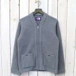【SALE特価50%off】THE NORTH FACE PURPLE LABEL『Wool Fleece Cardigan』(Mix Gray)