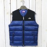 【SALE特価50%off】THE NORTH FACE PURPLE LABEL『Light Nuptse Vest』(Blue)