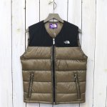 【SALE特価50%off】THE NORTH FACE PURPLE LABEL『Light Nuptse Vest』(Khaki Beige)