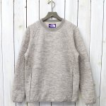 【SALE特価30%off】THE NORTH FACE PURPLE LABEL『Quilting Wool Knit Sweater』(Beige)