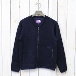 【SALE特価40%off】THE NORTH FACE PURPLE LABEL『Quilting Wool Knit Cardigan』(Navy)