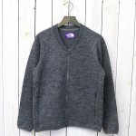 【SALE特価40%off】THE NORTH FACE PURPLE LABEL『Quilting Wool Knit Cardigan』(Mix Gray)