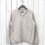 【SALE特価40%off】THE NORTH FACE PURPLE LABEL『Quilting Wool Knit Cardigan』(Beige)