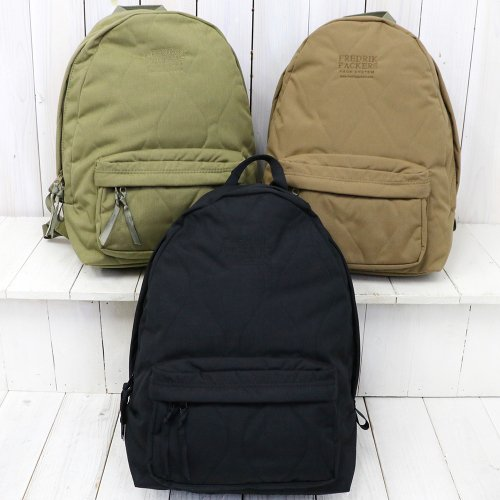 FREDRIK PACKERS『500D QUILTING MILITARY DAY PACK』
