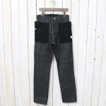 SASSAFRAS『FALL LEAF PANTS』(BLACK)