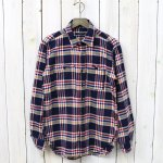 ENGINEERED GARMENTS『Work Shirt-Plaid Flannel』(Navy/Red/Yellow)