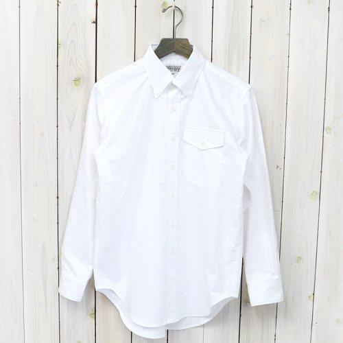 【会員様限定SALE】ENGINEERED GARMENTS WORKADAY『BD Shirt-Heavy Oxford』(White)