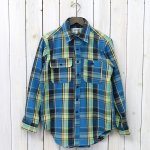 ENGINEERED GARMENTS WORKADAY『Utility Shirt-Indian Plaid』(Lt.Blue)