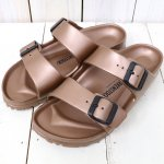 【SALE特価30%off】BIRKENSTOCK『EVA ARIZONA』(METALLIC COPPER)