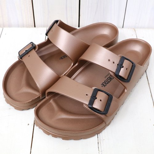【SALE特価40%off】BIRKENSTOCK『EVA ARIZONA』(METALLIC COPPER)