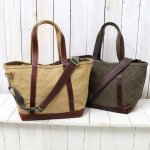 ARTS & CRAFTS『AGING CANVAS-2WAY TOTE』