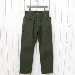 SASSAFRAS『WHOLE HOLE PANTS』(OLIVE)