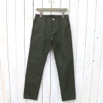 SASSAFRAS『SPRAYER PANTS(DUCK)』(OLIVE)