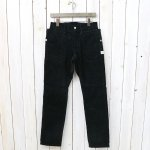 SASSAFRAS『FALL LEAF SPRAYER PANTS(CORDUROY)』(BLACK)