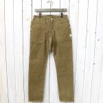 SASSAFRAS『FALL LEAF SPRAYER PANTS(CORDUROY)』(BEIGE)