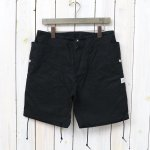 SASSAFRAS『FALL LEAF OVER PANTS 1/2(CANVAS)』(BLACK)