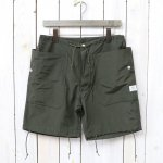 SASSAFRAS『FALL LEAF OVER PANTS 1/2(60/40)』(OLIVE)